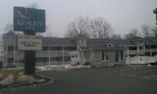 Lifetime Gutters at the Quality Inn in Lake George, NY